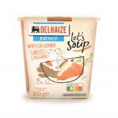 Delhaize Ginger carrot soup