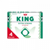 King Extra sterke originele pepermunt rollen