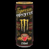 Monster Energy espresso and milk triple shot