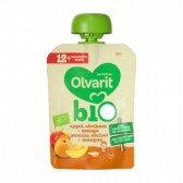 Olvarit Organic apple, apricot and mango smoothie (from 12 months)