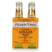 Fever-Tree Premium ginger ale tonic water 4-pack