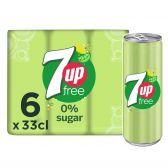 7Up Free lemonade 6-pack
