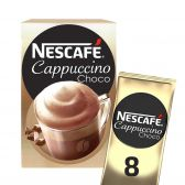 Nescafe Cappuccino chocolate coffee sticks