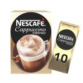 Nescafe Cappuccino intenso suikervrije koffie sticks