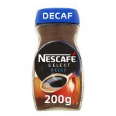 Nescafe Select decaf instant coffee