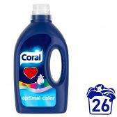 Coral Liquid laundry detergent for colored laundry optimal color