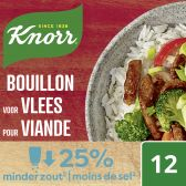 Knorr Beef stock less salt