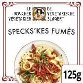 De Vegetarische Slager Spekskes fumes (voor uw eigen risico, geen restitutie mogelijk)