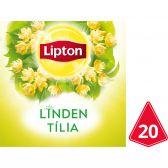 Lipton Lime herb tea pyramides