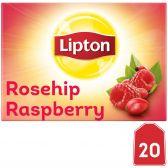 Lipton Rosehip raspberry herb tea