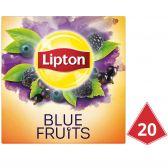 Lipton Blue fruit black tea pyramides