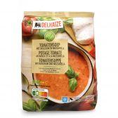 Delhaize Tomatensoep met basilicum en mozzarella (alleen beschikbaar binnen de EU)