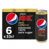 Pepsi Cola max cafeïnevrij 6-pack