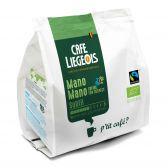 Cafe Liegeois Mano Organic subtil coffee pods fair trade