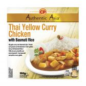 Authentic Asia Kip gele curry jasmijnrijst