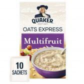 Quaker Oat flakes multifruit