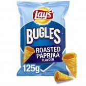 Lays Bugles roasted paprika crisps