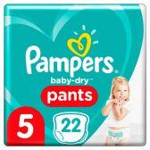 Pampers Baby dry pants maat 5 luierbroekjes mid pack
