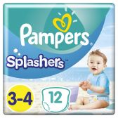 Pampers Splashers size 3 pants carry pack