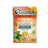 Ricola Suikervrije sinaasappel munt kruidenpastilles
