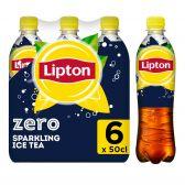 Lipton Ice tea zero sugar sparkling 6-pack