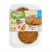 Delhaize Organic nasi burger (at your own risk, no refunds applicable)