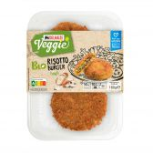 Delhaize Organic risotto burger (at your own risk, no refunds applicable)