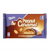 Milka Peanut caramel chocolate tablet