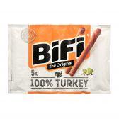 Bifi Gerookte droge kalkoen worst familieverpakking