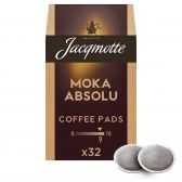 Jacqmotte Mocha absolu coffee pods