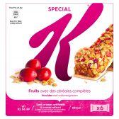 Kellogg's Special K rode vruchten graanrepen