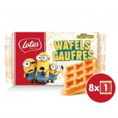 Lotus Vanilla waffles for kids
