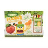 Materne Apple sauce with oranges fruit pocket