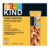 Be-Kind Geroosterde honing, noten en zeezout reep