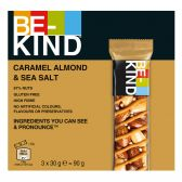 Be-Kind Karamel, amandel en zeezout reep