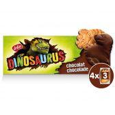 Lotus Chocolade dinosaurus koekjes