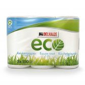 Delhaize Ecologisch keukenpapier 3 lagen
