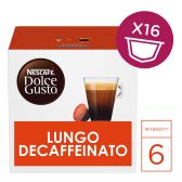 Nescafe Dolce gusto lungo decaf coffee caps