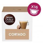 Nescafe Dolce gusto cortado coffee caps