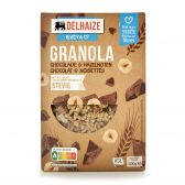 Delhaize Muesli with chocolate and nuts stevia