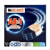 Delhaize Dishwashing tabs all in one