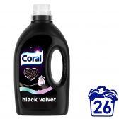 Coral Liquid laundry detergent for black laundry black velvet