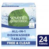 Seventh Generation Vaatwastabletten vrij en helder