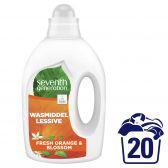 Seventh Generation Ecologisch vloeibare wasmiddel frisse sinaasappel en bloesem