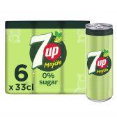 7Up Free mojito lemonade 6-pack