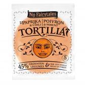 No Fairytales Paprika chili tortilla wraps