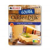 Delhaize Oudendijk matured Gouda cheese slices