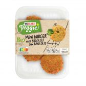 Delhaize Organic mini broccoli burger (at your own risk, no refunds applicable)