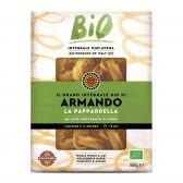 Armando Organic wholegrain pappardelle pasta
