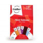Galler Dark chocolate mini bars fair trade